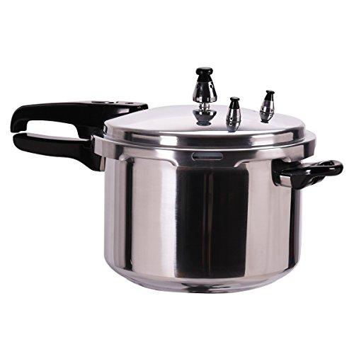 Giantex 6-Quart Aluminum Pressure Cooker Fast Cooker Canner Pot Kitchen