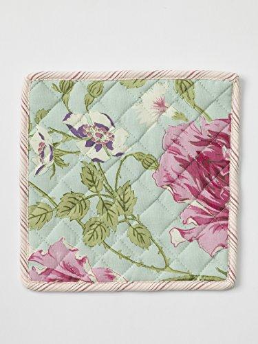 April Cornell Bright Patchwork Pocket Potholder and Tea Towel Set
