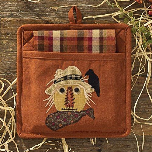 Park Designs Scarecrow Pocket Potholder Set