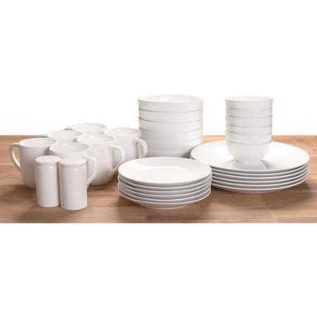 Durable And Multi Purposed 32-Piece Dinnerware Set White