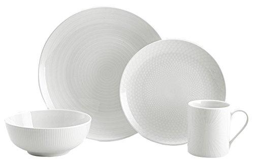 Mikasa 5224196 40 Piece Cheers Dinnerware Set White