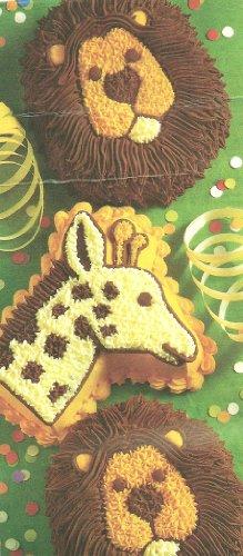 Wilton Cake Pan Mini Jungle Animals Treats - LionsGiraffes 2105-2096 1995