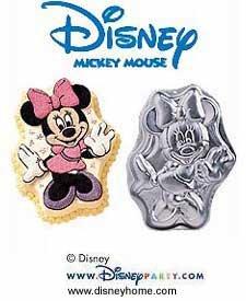 Wilton Minnie Mouse Cake Pan 2105-3602 1998