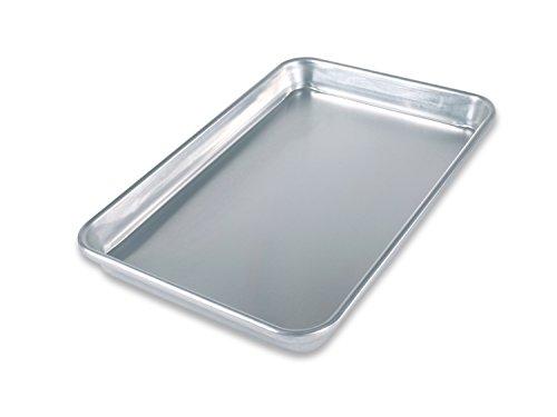 USA Pan Bare Aluminum Bakeware 1045QS-BB Quarter Sheet Baking Pan Warp-Resistant Rust-Proof Bakeware