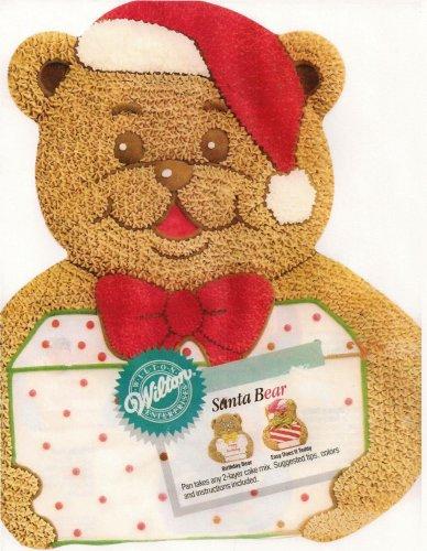 Wilton Santa Bear Cake Pan