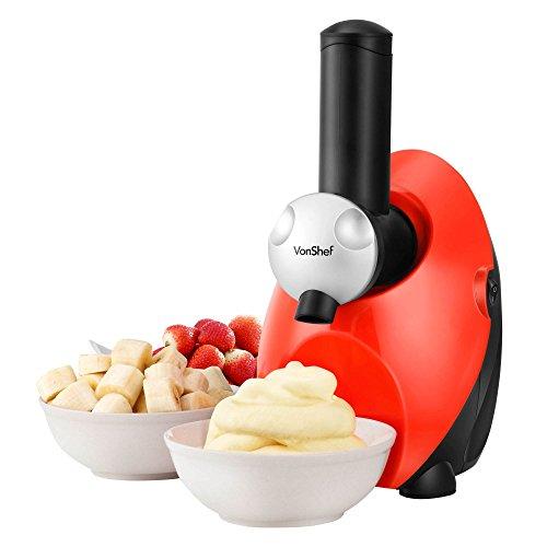 Vonshef Frozen Yogurt Fruit Ice Cream Smoothie Dessert Maker Blender Machine