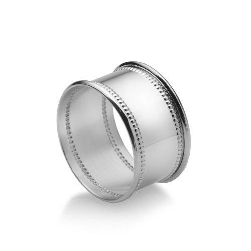 Empire 209BD Silver Beaded Napkin Ring