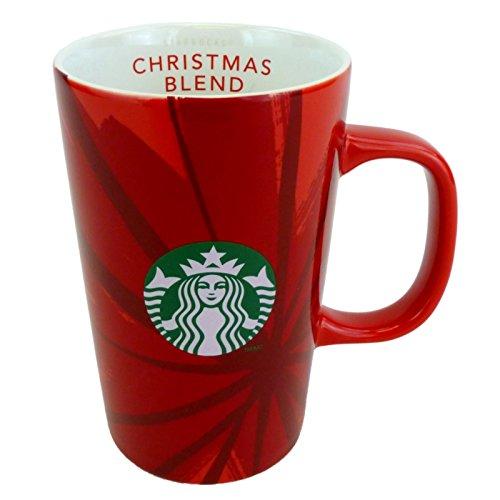 Starbucks 30th Anniversary 2014 Christmas Blend Red Coffee Mug 12 fl oz