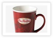 Tim Hortons Limited Editions 2009 Red Coffee Mug