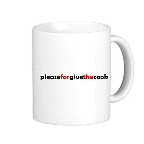 SthAmazing Please Forgive The Cook Photo Coffee Travel Mugs Mug Designs