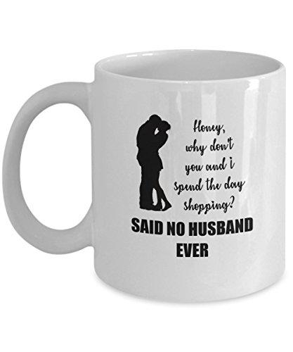 Funny Husband Shopping Mug