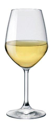 Bormioli Rocco Restaurant White Wine Glass Set of 4