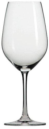 Schott Zwiesel Tritan Crystal Glass Forte Stemware Collection BurgundyLight Red White Wine Glass 136-Ounce Set of 6