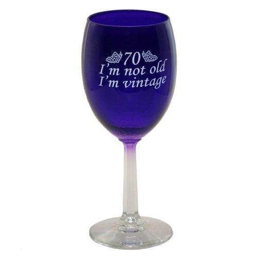 70 Im Vintage Wine Glass