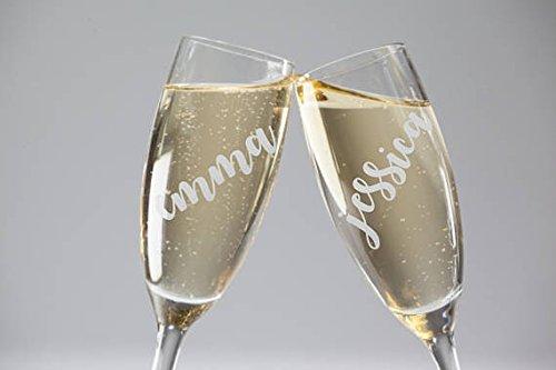 Personalized Bridesmaid Gift Bridesmaid Champagne Glass Bridesmaid Ideas Champagne Glass Bridesmaid Proposal
