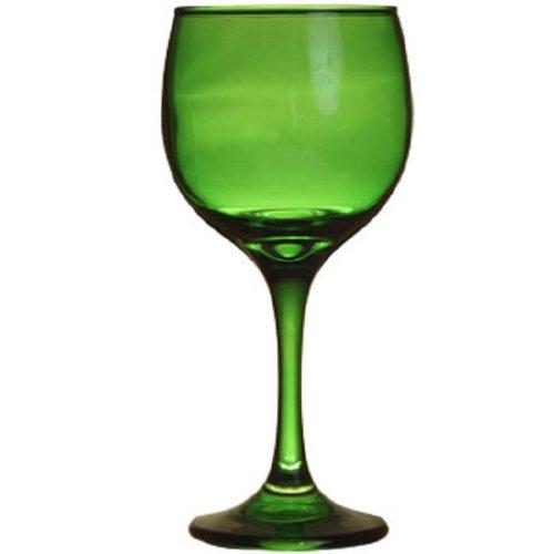 Emerald Green Wine Glass Goblet