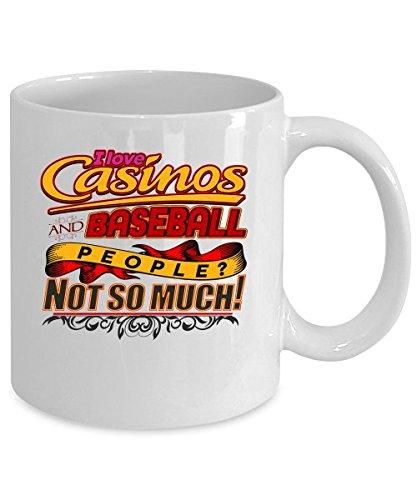 Baseball and Casinos Novelty Funny Mugs_ T Cups_ Mugs