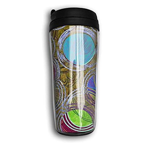 Colorful Baseball Coffee Cup Travel Leak-proof Mug Double-layer Sports Pot