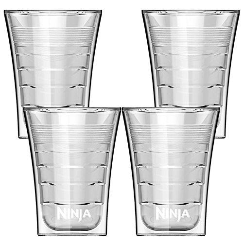Ninja 14 Ounce Microwave Safe Plastic Double Insulated Cup for Ninja Coffee Bar 4