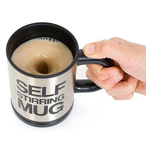 Self Stirring Coffee Mug 400 ml Double Insulated Cup Automatic Electric Coffee Cups Smart Mugs