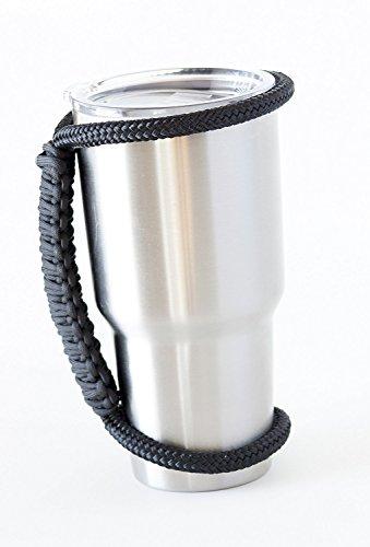 ULTIMATE Rambler Handler for 30 oz Tumbler Cup - Universal-Fit for Yeti SIC RTIC Kodiak Boss More - Super-Unique Gift 100 Guaranteed