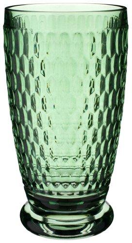 Villeroy Boch Boston Green Crystal Highball Glass