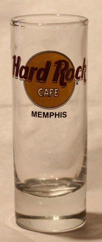 Hard Rock Cafe Key Memphis Tennessee 2oz Promotional Shot Glass