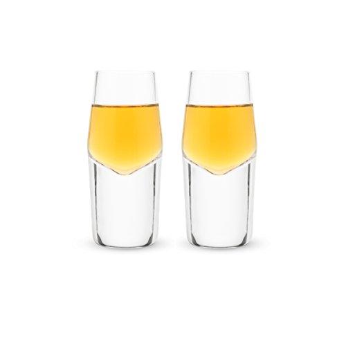 Raye - Heavyweight Crystal Shot Glasses Set of 2