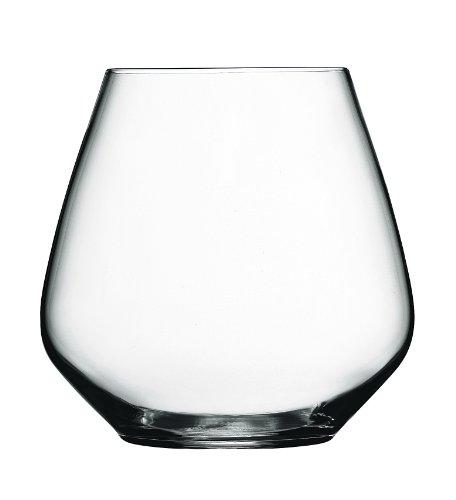 Luigi Bormioli Atelier Stemless Pinot Noir Wine Glass 20-Ounce Set of 6