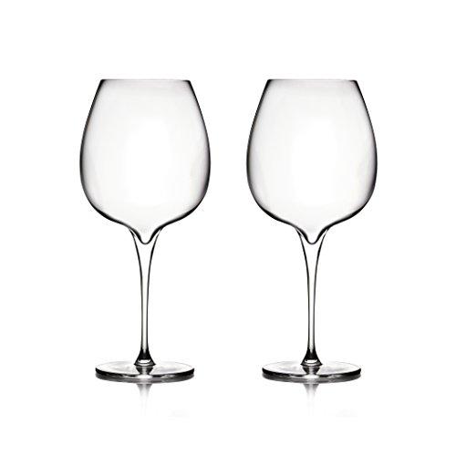 Nambé MT0948 Vie Pinot Noir Wine Glasses Clear