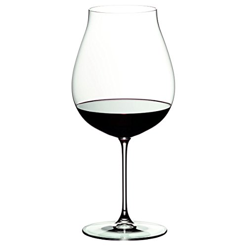 Riedel Veritas Leaded Crystal New World Pinot Noir Wine Glass Set of 8