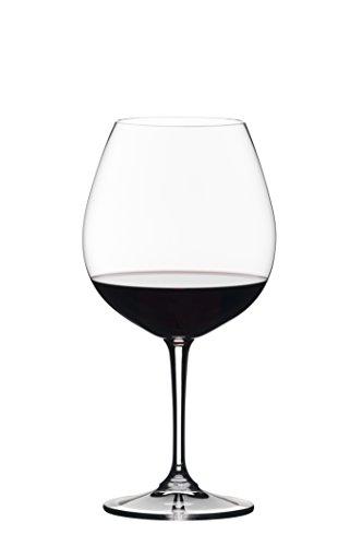 Riedel Vivant Pinot Noir Wine Glass Set of 4 Clear