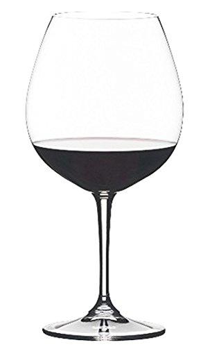 Riedel Vivant Pinot Noir Wine Glasses Set of 4 Glass Capacity 2575oz or 730ml