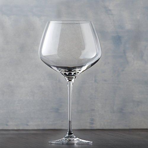 Wine Enthusiast Fusion Infinity Pinot Noir Wine Glasses Set of 4