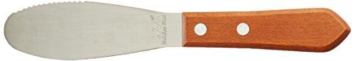 NEW Wide Sandwich Spreader Butter Knife Knives Cheese Spreader Stainless Steel Blades Restaurant Grade Set of 12