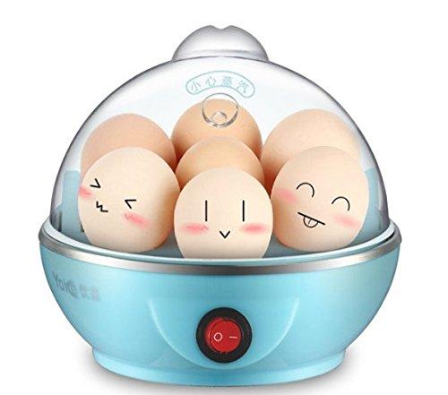 Electric 7 Eggs Boiler Cooker Steamer Poacher Kitchen Cooking Tool