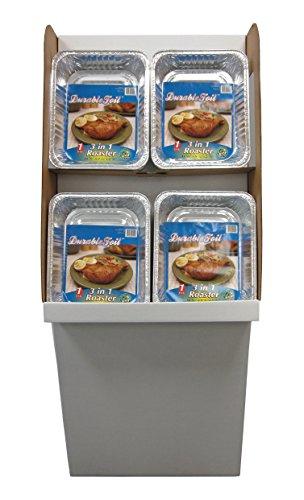 Durable Foil 3-in-1 Aluminum Roasting Pan Pack of 96