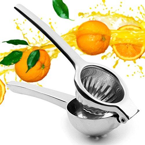 Lemon Squeezer Lemon Juicer Lime Squeezer EEGO 33inch Ultra Large Bowl Stainless Steel Manual Juicer Citrus Press Fruit Press for Lemon Lime Orange Citrus