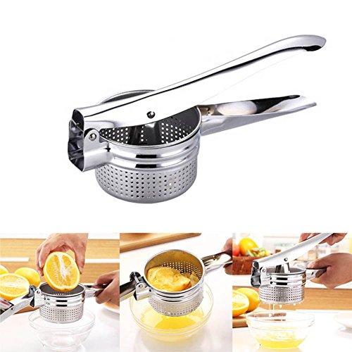 Lznlink Manual Lemon Juicer Squeezer Stainless Steel Potato Ricer Masher Food Strainer Fruit Press Maker Kitchen Accessories