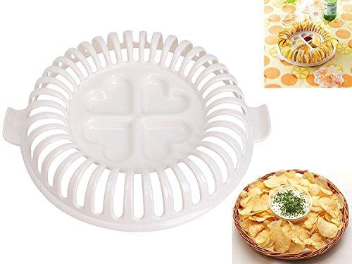 DIY Microwave Oven Baked Potato Chips Homemade Maker