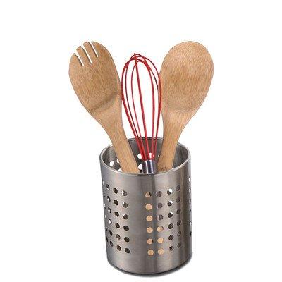 Home Basics Stainless Steel Cutlery Holder