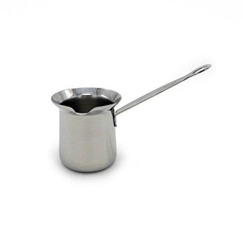 Stainless Steel Turkish Coffee Pot - 9 Fl Oz