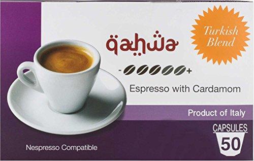 Turkish Coffee - Nespresso Compatible Capsules - By Mixpresso Cardamom Flavor