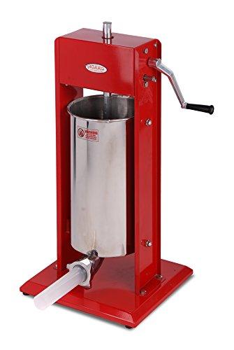 Hakka Sausage Stuffer Stainless Steel Vertical Sausage Maker 7LB3LCV-3