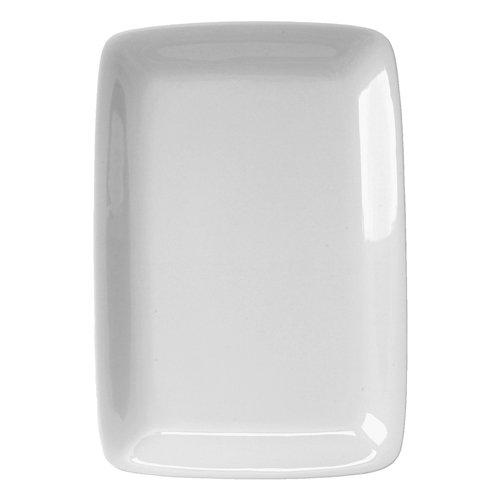 White Porcelain Rectangular Platter 95 X 14 Inches
