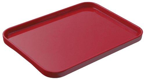 Lustroware K-201 MR Melamine Serving Tray Medium Red