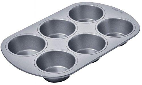 Chicago Metallic 13206 6 Cup Chicago Metallic Betterbake Non Stick Muffin Pan