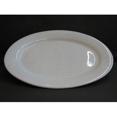 BIA Cordon Bleu 20 -Inch Porcelain Oval Serving Platter White