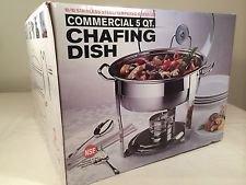 Seville Classics Commerical 5 Quart Chafing Dish