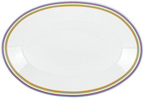Lenox DKNY Urban Essentials White Platter Metallic